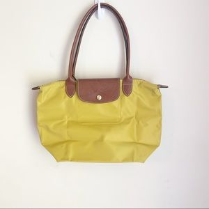 Longchamp Small La Pliage Tote, Curry